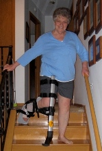 Iwalkfree hands free crutch